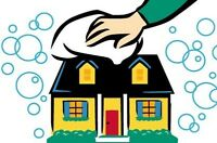 Maid services. A clean house is a happy house!