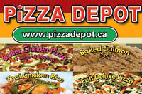 PIZZA MAKER AND CASHIER,COOK & DELIVERY DRIVERS