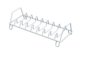 Lid/Pan/Plate Organizer, Holds 8 Lids/Pans/Plates - White
