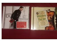 Xmas michael buble album & irish drinking songs album