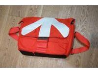 Manfrotto Stile Unica V Messenger in Red / White Camera Bag