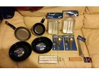 New camping things for sale