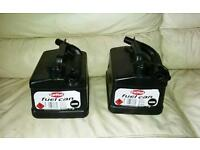 2 new car fuel Gerry cans - hoses