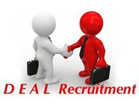 DEAL Recruitment is looking for 2 electricians for a long term job in Earl's Court .