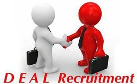 DEAL Recruitment is looking for: