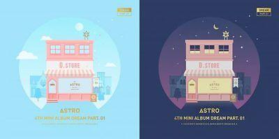 [US SHIPPING] Astro-[Dream Part.01]4th Mini Album NIGHT Version CD+Booklet+Card