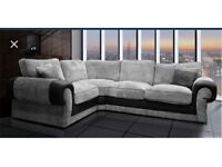 Scs Ashley corner sofa with #FREE FOOTSTOOL #