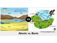 What is Difference between Abiotic and Biotic ? #javaTpoint