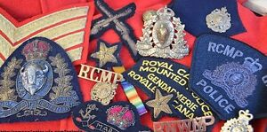 RCMP-NWMP items wanted