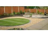 Fencing, flagging, decking, block paving, turfing, driveways, indian stone, discounts available,