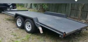 Car trailer hire with winch