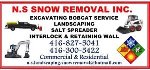 Snow removal & salting commercial & residential on call $50