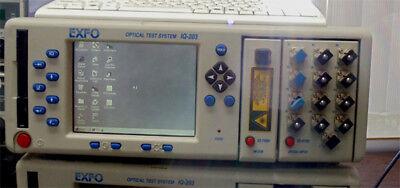 Exfo Iq-7400 Sm Otdr With Iq203 Main Frame And Iq9100 Fiber Switch.