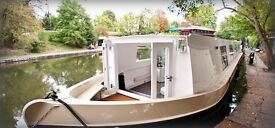 Fabulous Houseboat / Barge / Narrow boat / Canal Boat, Central London 12 MONTH MIN CONTRACT