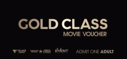 2 x Village Cinemas Gold Class Movie Vouchers Tarneit Wyndham Area Preview