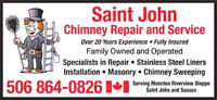 Chimney services now in forest hills Saint John