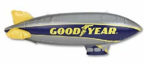 "NEW SEALED 33"" Goodyear Tire Inflatable Blimp Blow Up Advertising Dirigible"