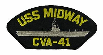 USS MIDWAY CVA-41 PATCH USN NAVY SHIP AIRCRAFT CARRIER MAGIC