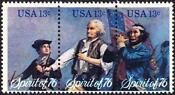 US Bicentennial 13 Cent Stamp
