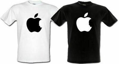 APPLE STEVE JOBS Logo Tshirt Black/White S-XXL