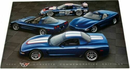 2004 Chevrolet Chevy Corvette C5 Commemorative Edition Poster 24 X 36 New