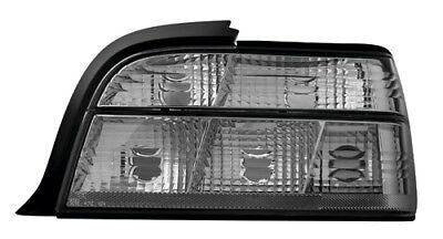 RÜCKLEUCHTEN KLARGLAS BMW E36 LIMOUSINE SCHWARZ KTL
