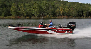 Looking to buy Nitro z7 or triton or stratos bass boat