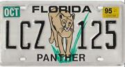 Old Florida License Plates