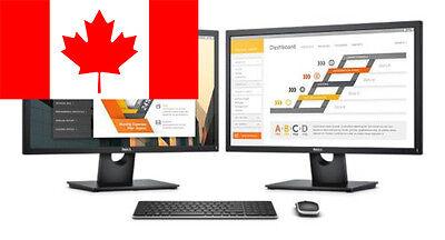 "Brand NEW Dell 24"" E2417H Widescreen Monitor 1920x1080 8ms 3 Years Warranty"