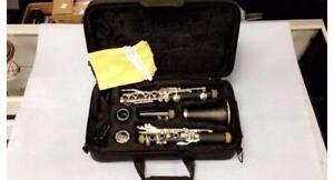 ***LIQUIDATION*** Clarinette Adagio JTC 100 Nickel Plated Premium Clarinet Bundle