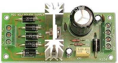 Variable Input Ve Adjustable 1.5v To 35v Power Supply - Requires Assembly