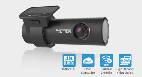 BlackVue DR900S-1CH 4K UHD Dashcam GPS WiFi Cloud (16GB)