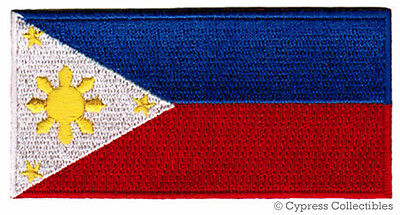 PHILIPPINES FLAG embroidered PATCH FILIPINO PINOY new ISLAND