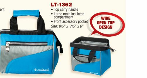 4e73db569a03 Insulated Lunch Bag Cooler wide open top design