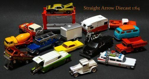 Straight Arrow Diecast 1:64
