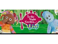 In the night garden Live tickets