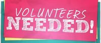Volunteers Wanted Sunday September 16th