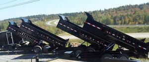 FACTORY OUTLET PRICING on High Quality Dump Trailers !