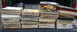 Lot of Record Records LPs