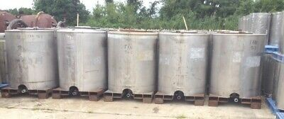 300 - 330 Gallon Stainless Steel Portable Ibc Tankstotes By Custom Metalcraft