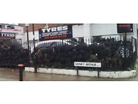 TYRES | WHEEL ALIGNMENT | CAR SERVICING | BRAKES | EXHAUST | Green Lanes Tyres N13