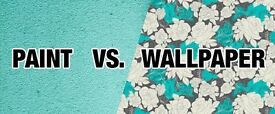 Painting and Wallpapering(professional decorator)
