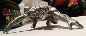 Spiderman Pewter Paperweight 1996 original box BEST OFFER Romita