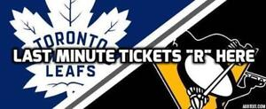 DONT MISS★Toronto Maple Leafs v Pitts PenguinsTHU Oct 18 7PM
