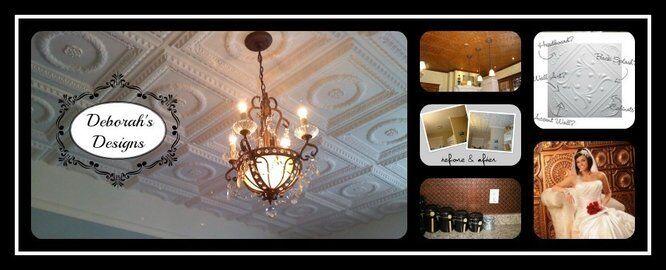Ceiling Tile and Backsplash Designs