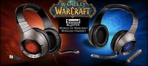 World Of Warcraft Wireless Gaming Headset