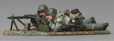 THOMAS GUNN WW2 GERMAN FALLSCHIRMJAGER FJ028B MG42 TEAM LATE WAR MIB