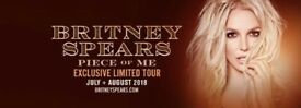 Britney Spears: Piece of Me Tour (Glasgow 22nd August) [Last Ticket]