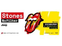 4 Tickets for Rolling Stones Edinburgh Concert at Murrayfield Stadium 9 June 2018