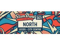 35£ Slam dunk music festival Leeds tickets (6 available) collection from the festival door